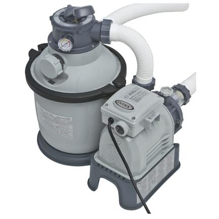 grey pool filter pump