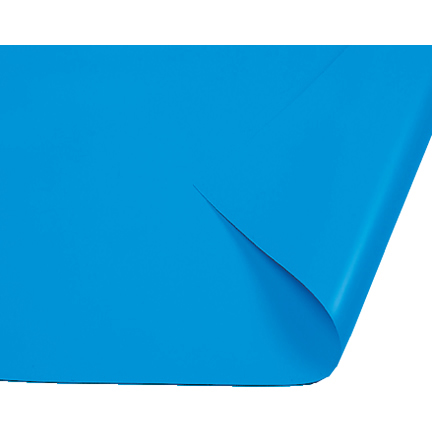 Blue pool liner