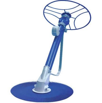 blue pool cleaner