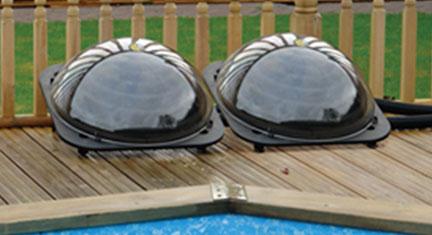 Black solar pod