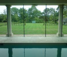 Garden view from Indoor swimming pool